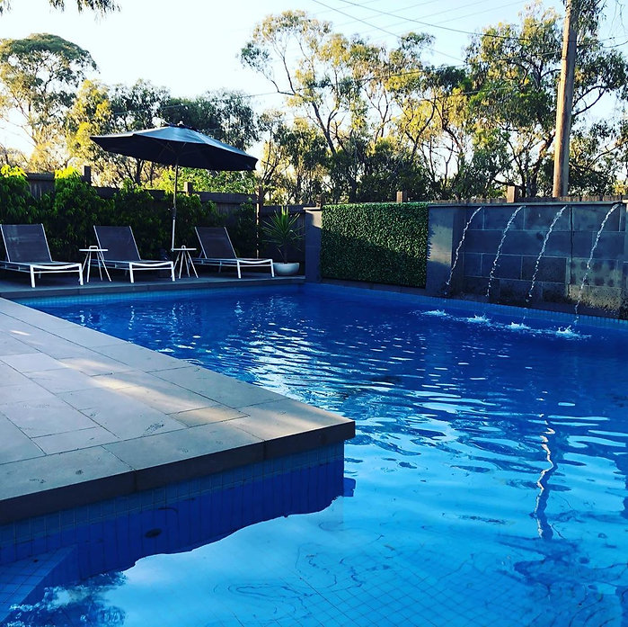 Viewbank paving in Melbourne Poolside pa