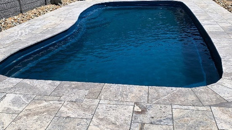 Viewbank Paving landscaping in Melbourne Victoria Turkish Travertine pool