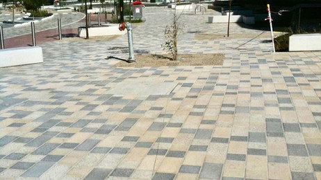 Broadmeadows Secondary School paving by