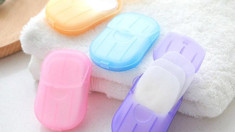 Travel Disinfectant Soap Paper 20pcs