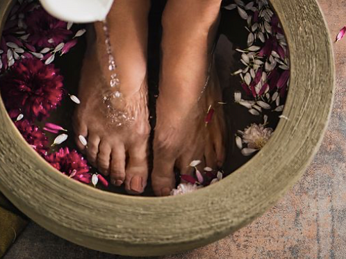 Foot Soil Bath