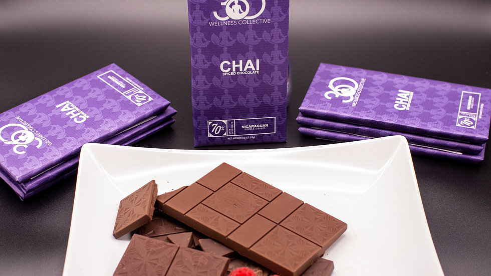 70% Dark Chai Chocolate