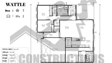 WATTLE floorplan