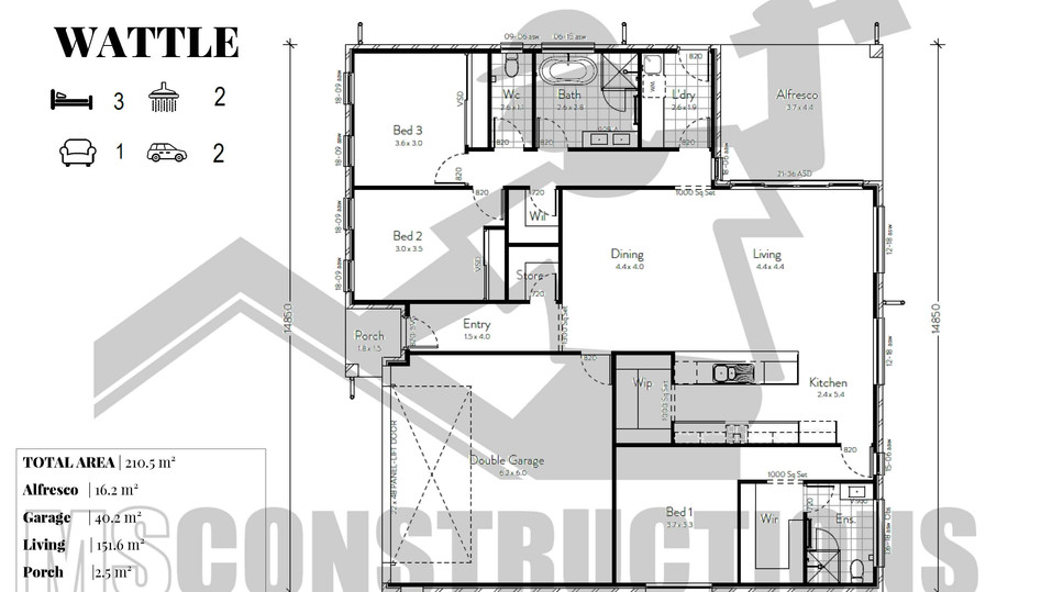WATTLE floorplan