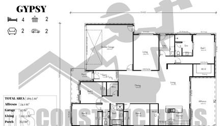 GYPSY floorplan
