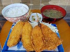 由比倉澤の鯵フライ定食.jpeg