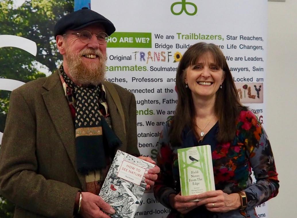 Shropshire Literature Festival talk Paul Evans 2018 Shrewsbury