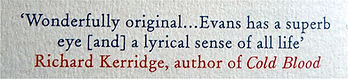 Book review Field Notes From The Edge by Richard Kerridge, author of Cold Blood