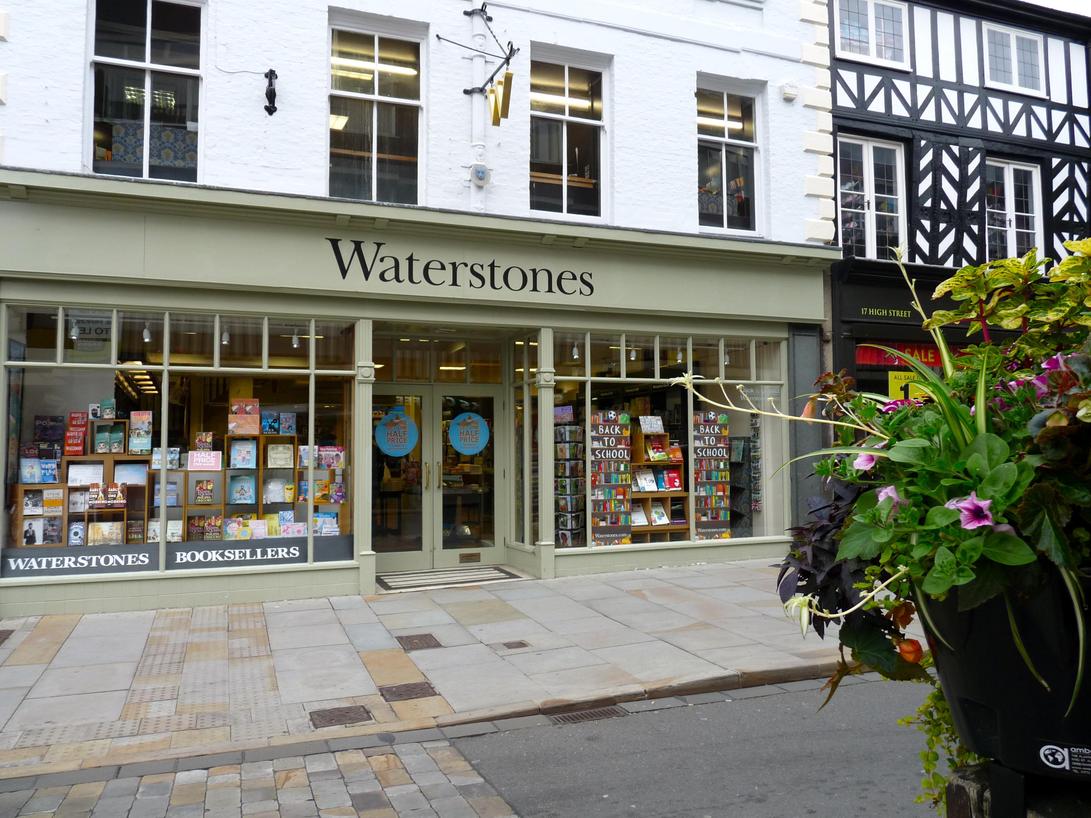 Waterstones Shrewsbury