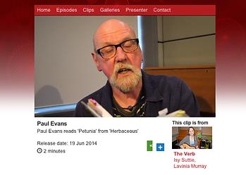 Paul Evans Author of Herbaceus