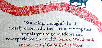 Book review Field Notes From The Edge by Gerard Woodward, author of I'll Go to Bed at Noon