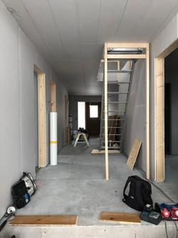 Nyproduktion villa innan