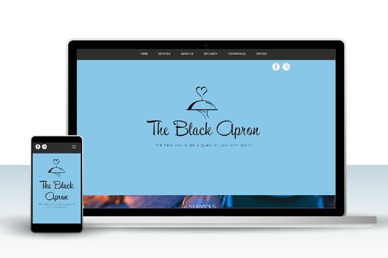 Black Apron website