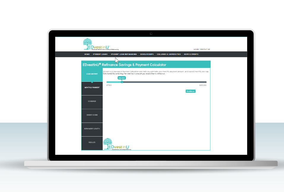 Website Application UI