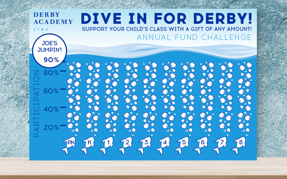 Dive in for Derby poster