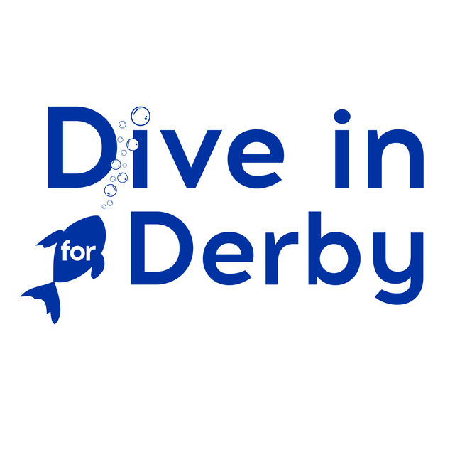 Dive in for Derby Campaign logo