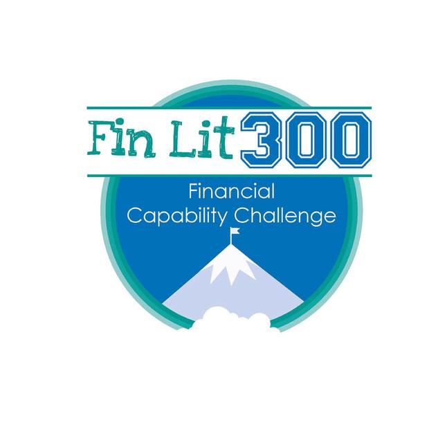 Fin Lit 300 Challenge event logo