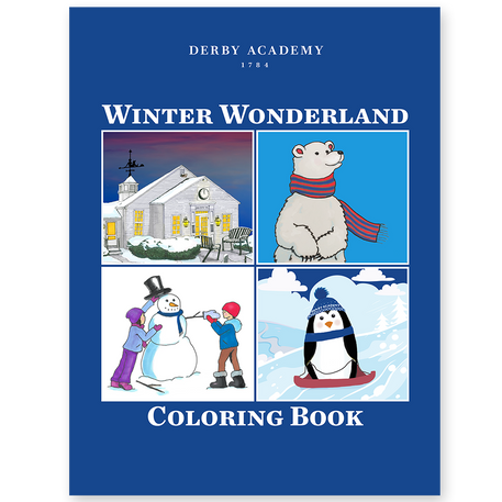 Admissions coloring book