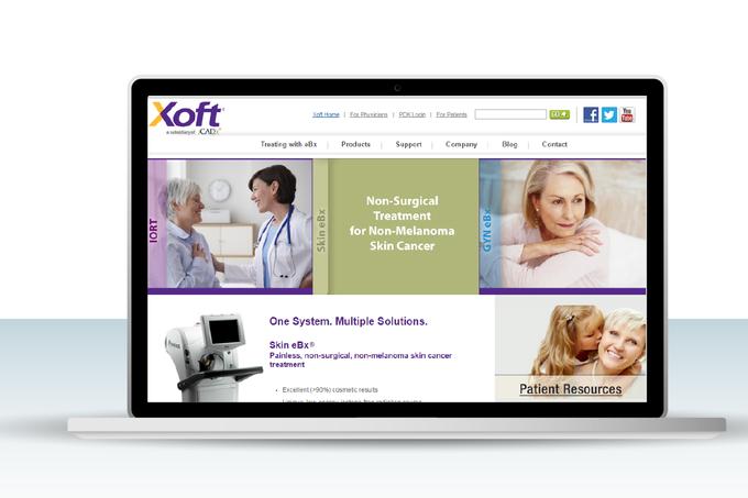 Xoft website UI