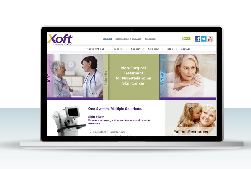 Medical device company website
