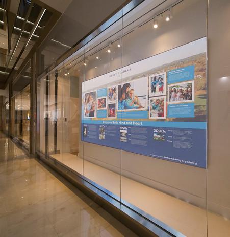 Wall Timeline Display