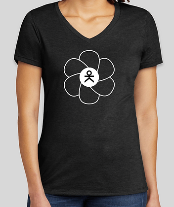 oK Flower V-Neck