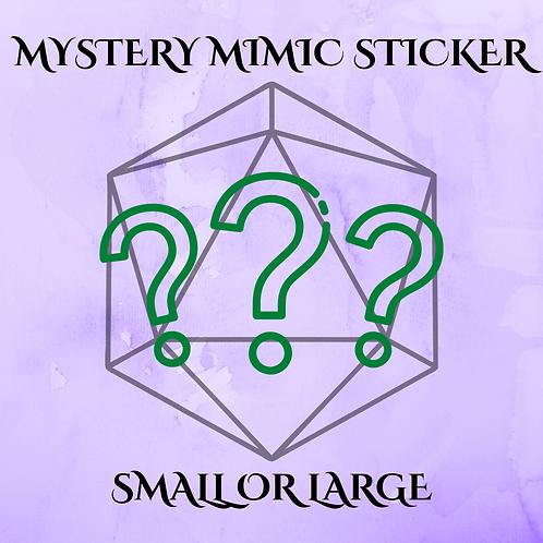 Mystery Mimic Sticker!