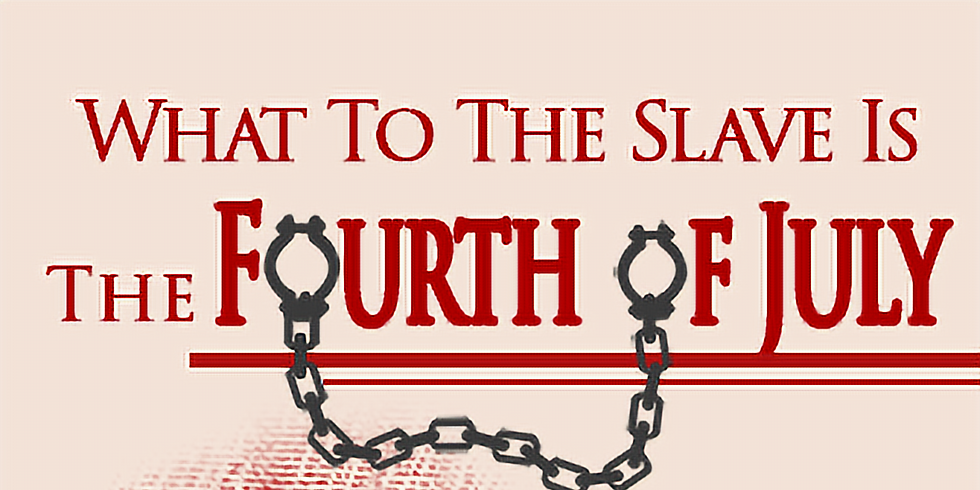 """Annual reading of """"What To The Slave Is The Fourth Of July"""" hosted by DHS project D.R.E.A.M."""