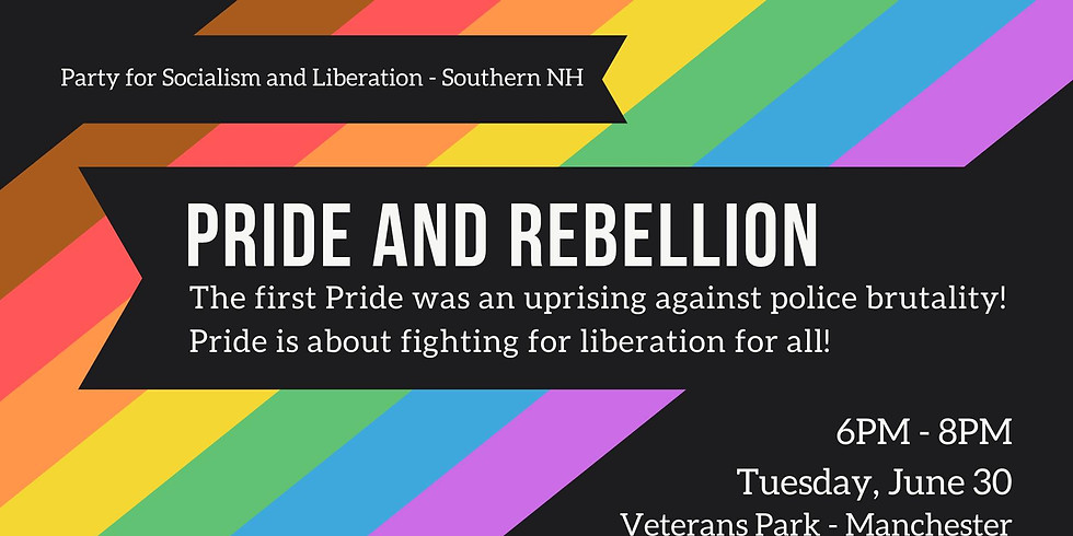 Pride and Rebellion Speakout hosted by Party for Socialism and Liberation - Southern NH