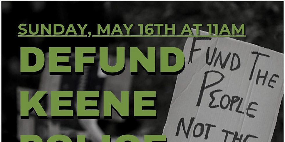 Fund the People Defund Keene Police