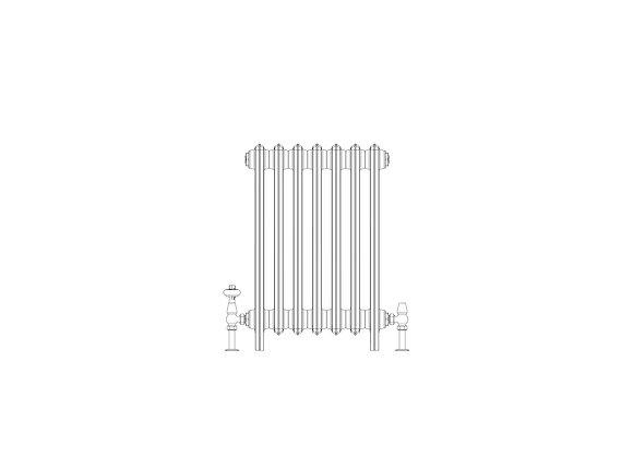 Ashdown 6 Column 665 x 448 (3031 BTU's)