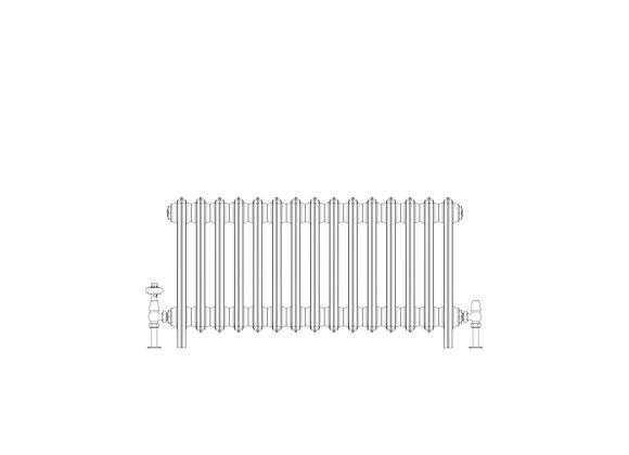 Ashdown 6 Column 485 x 928 (4815 BTU's)