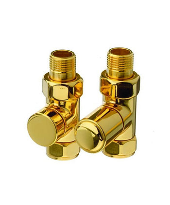 Cylinder Valve Straight (Gold)