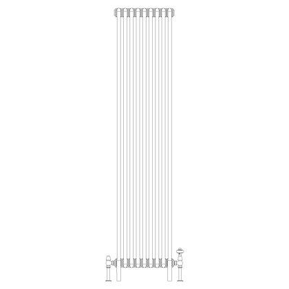 2 Column 1800 x 429 (3808 BTU's)