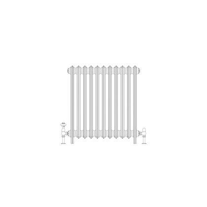 Ashdown 4 Column 760 x 688 (3795 BTU's)