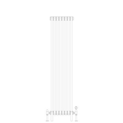 Cornel Graphex 2 Column 1500 x 384 (2811 BTU's)