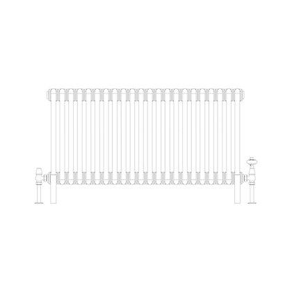 Cornel 2 Column 500 x 1014 (2702 BTU's)