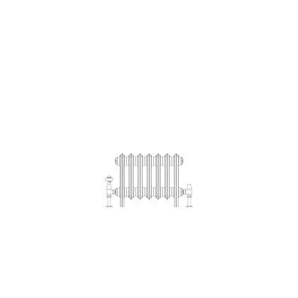 Ashdown 4 Column 355 x 448 (1099 BTU's)