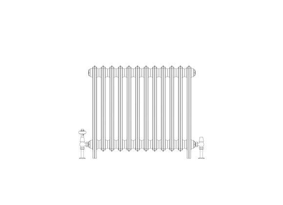 Ashdown 6 Column 665 x 748 (5196 BTU's)