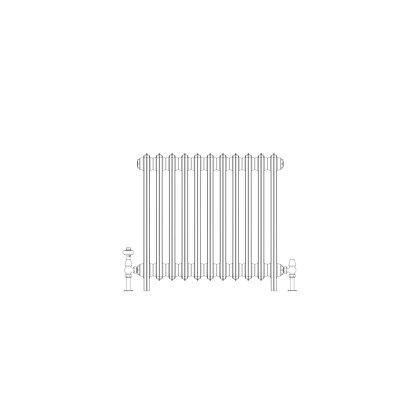 Ashdown 4 Column 660 x 688 (3267 BTU's)
