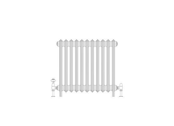 Ashdown 6 Column 665 x 688 (4763 BTU's)