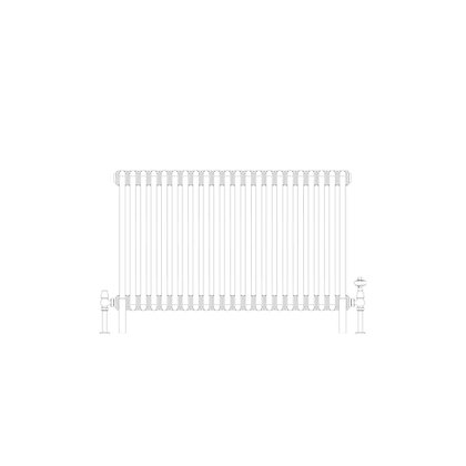 Cornel Graphex 3 Column 600 x 1014 (4504 BTU's)