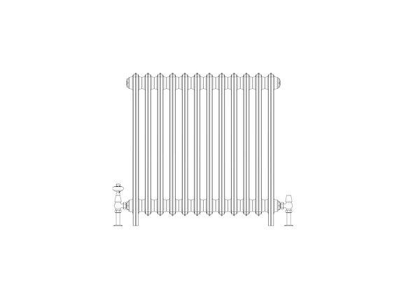 Ashdown 6 Column 760 x 748 (6024 BTU's)