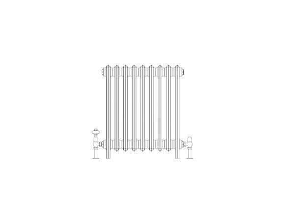 Ashdown 6 Column 665 x 568 (3897 BTU's)