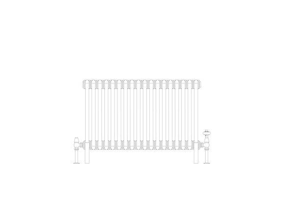 Cornel 3 Column 500 x 834 (3132  BTU's)