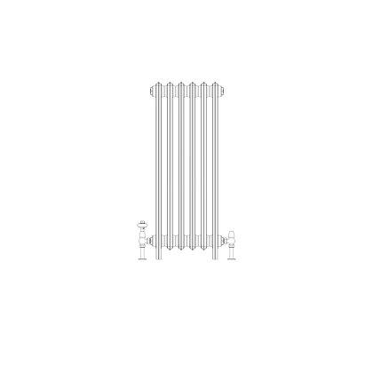 Ashdown 4 Column 960 x 388 (2562 BTU's)