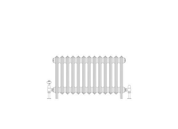 Ashdown 6 Column 485 x 808 (4173 BTU's)
