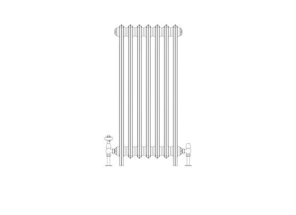 Ashdown 4 Column 960 x 448 (2989 BTU's)