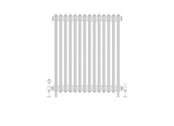 Ashdown 4 Column 960 x 868 (5978 BTU's)