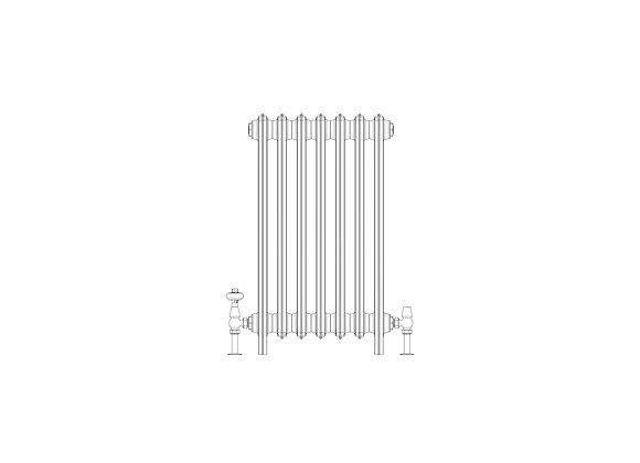 Ashdown 6 Column 760 x 448 (3514 BTU's)